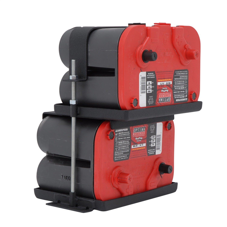 Smittybilt 2800 Dual Battery Tray by Smittybilt