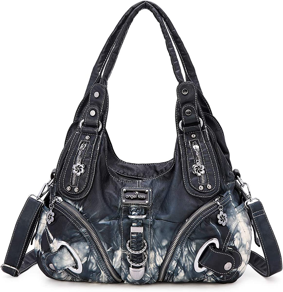 Women Handbags Purses Shoulder Bags PU Leather Satchel Hobo Tote Bags