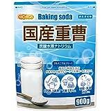 国産重曹 900g 炭酸水素ナトリウム [01] 食品添加物  NICHIGA(ニチガ)