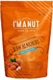 Raw Almonds unsalted 1 Lb Nonpareil Supreme Variety Resealable Bag No Shell