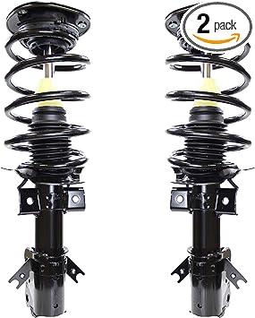 Complete Strut Assembly W//Coil Spring 2 Prime Choice Auto Parts CST272785-786PR Front Pair