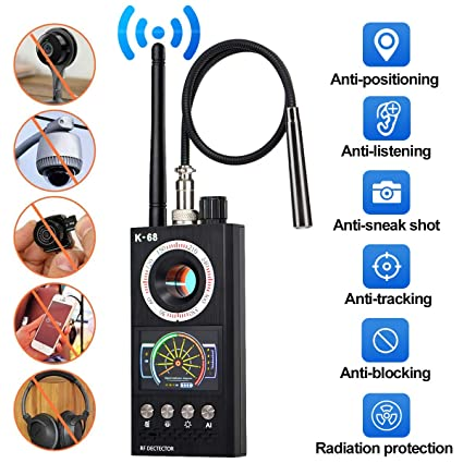 Bug Detector, G-TING RF Anti-Spy Detector Wireless Scanner,Hidden Camera