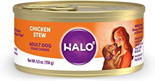 product image for Halo Natural Wet Dog Food, Chicken Recipe