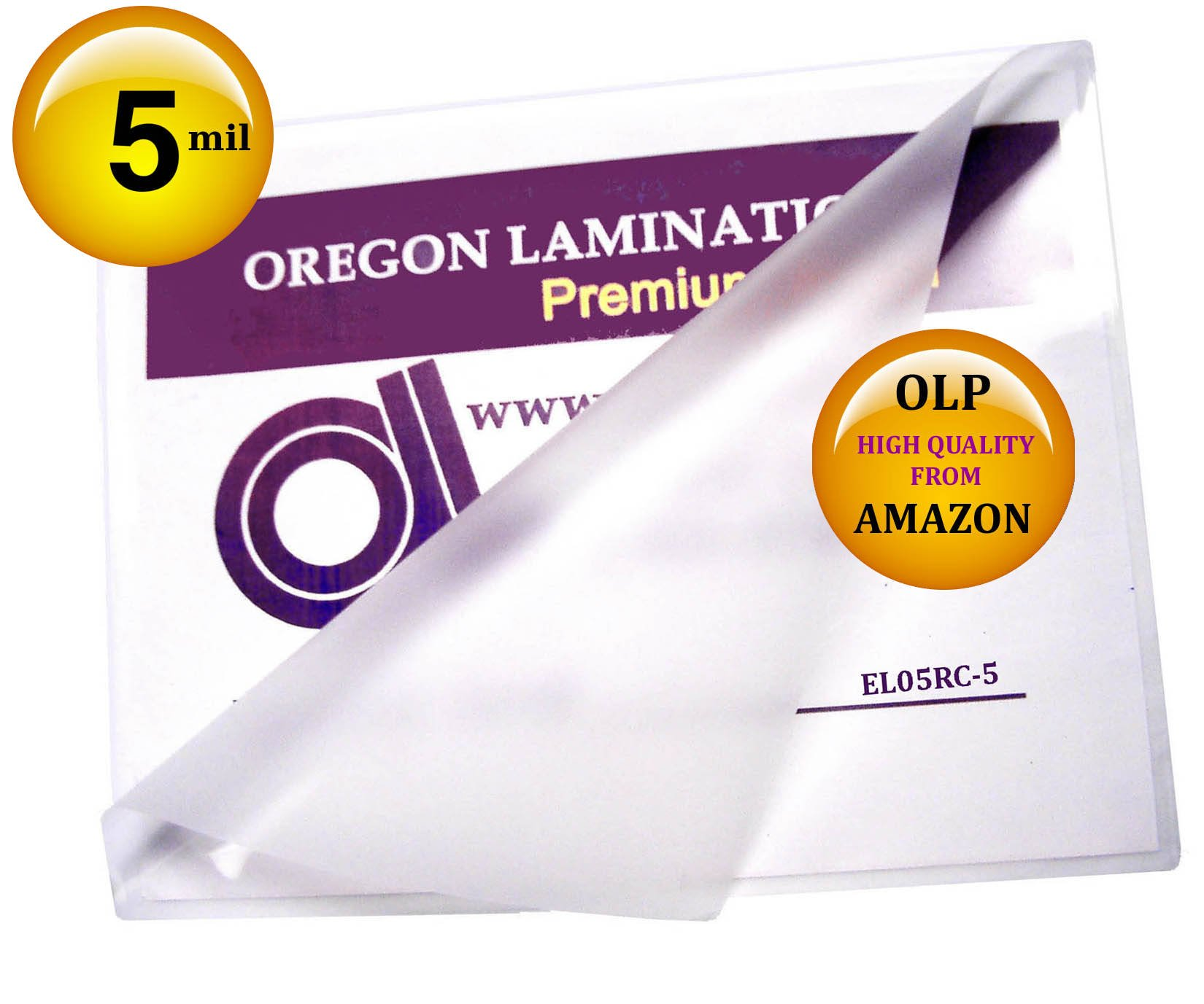 Oregon Laminations Premium Menu size Hot Laminating Pouches 5 Mil 12 x 18 (Pack of 500) Clear by Oregon Lamination Premium