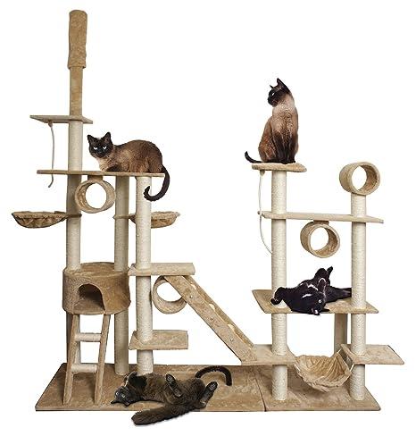 Amazon.com: Paws & Pals Casa de árbol para gatos ...