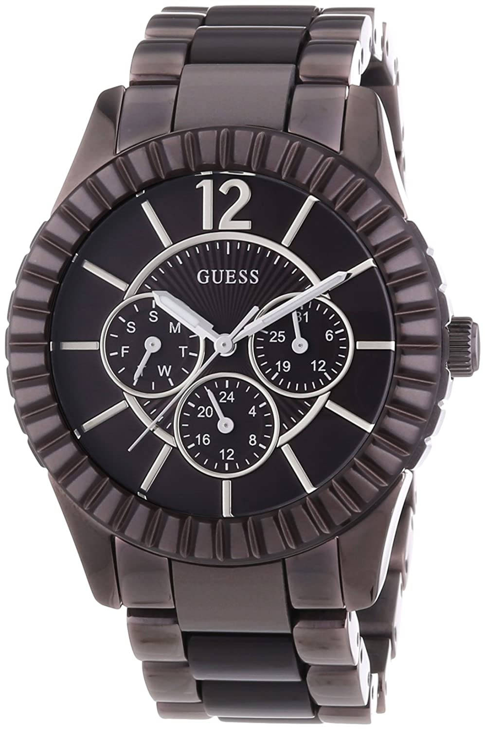 W0028l2 Watch Ladies Guess Multifunction Brown wm0vnNy8O