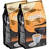 Lavazza Caffè Crema Dolce, Lot de 2, 2 x 16 Dosettes de Café