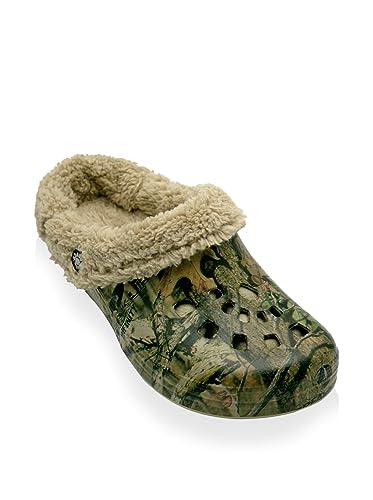1d15f4feb93dc Amazon.com | DAWGS Mossy Oak Mens Fleece Clogs | Mules & Clogs