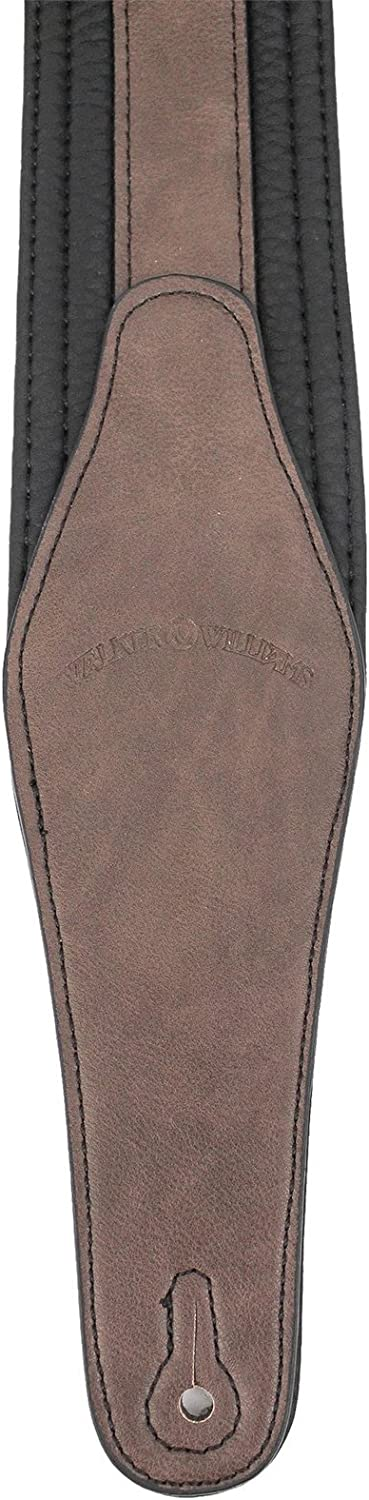 Walker /& Williams G-514 Cognac Multi Layer Strap with Padded Glove Leather Back