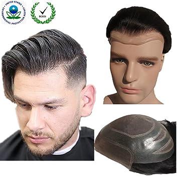 Toupee for men Hair pieces for men NLW European