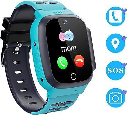 Winnes Reloj Inteligente para Niños Teléfono Smartwatch LBS ...