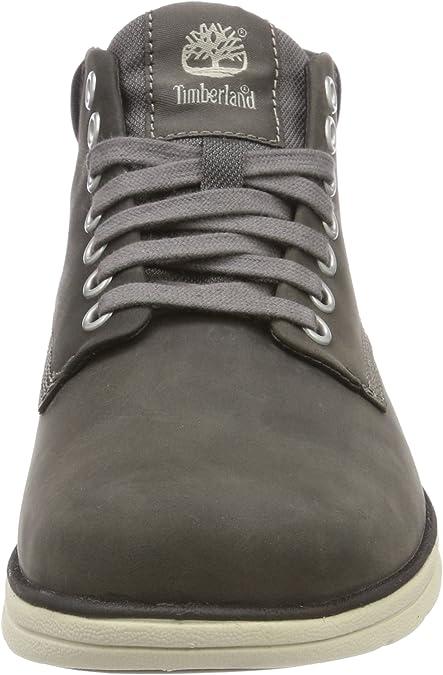 Timberland Herren Bradstreet Leather Sensorflex Chukka Stiefel, Grau Dark Grey Full Grain, 42 EU