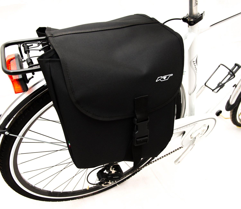 Bolsas traseras para bicicletas. Bolsos de bici. Alforjas de ...