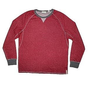 Tommy Bahama Mens Reversible Pullover Thermal Sweatshirt