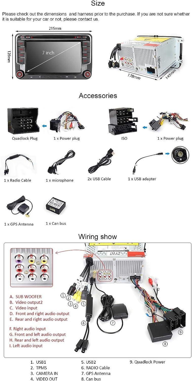 Bluetooth Kit Pioneer Auto Stereo CD USB AUX REPRODUCTOR VW Beetle DAB Radio