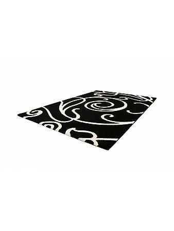 benuta Teppiche Moderner Designer Teppich Sydney Schwarz 120x170 cm ...