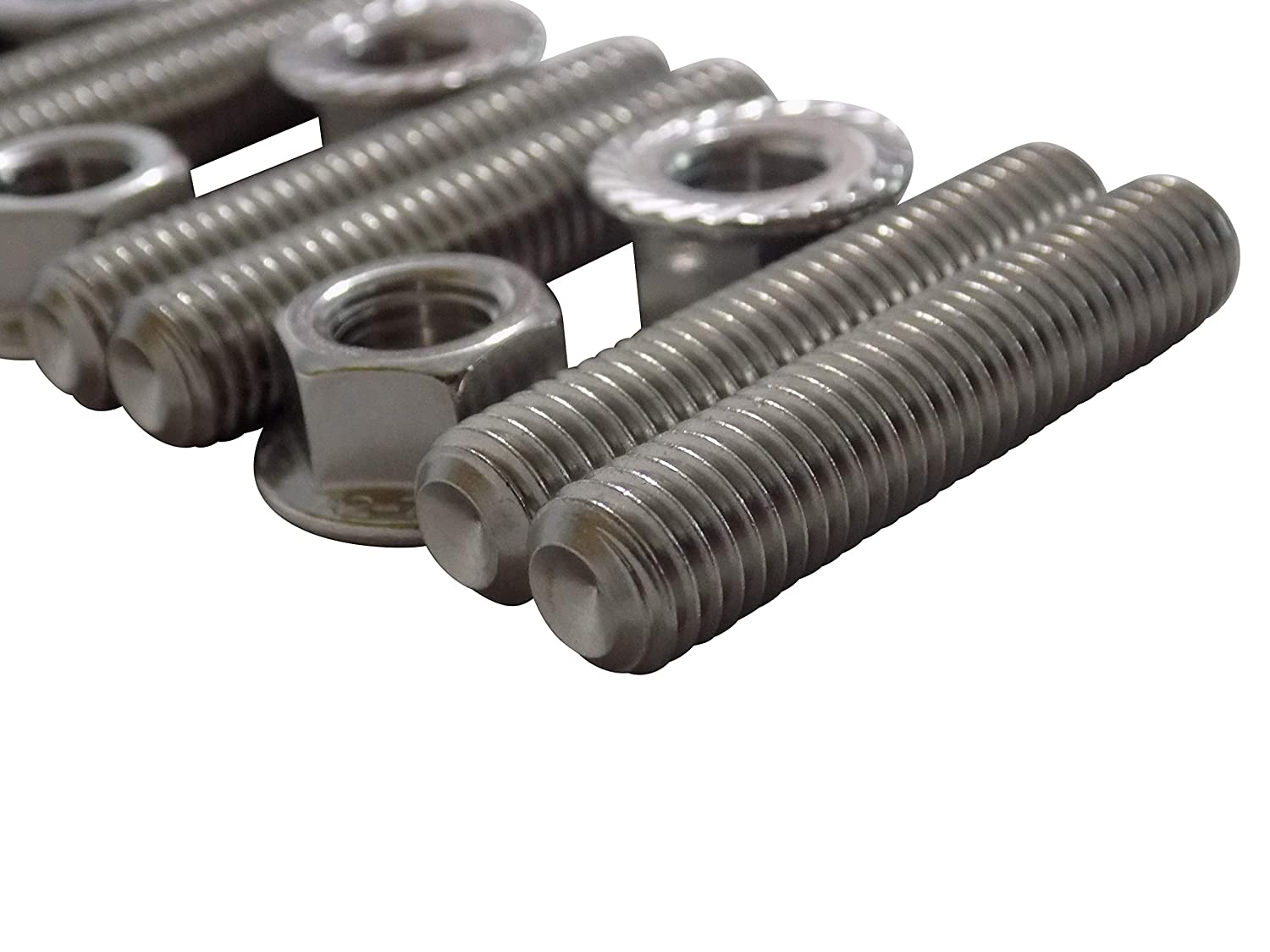 Stainless Exhaust Manifold Stud Kit for 1989-2019 5.9l /& 6.7l Cummins Turbo Diesel