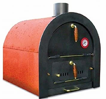 Bausatz pizzaofen mit grill  Amazon.de: Steinbackofen Holzbackofen Pizzaofen Bausatz Valoriani ...