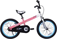 RoyalBaby Honey & Buttons Kids Bike, for Boys & Girls, with Training Wheels or Kickstand