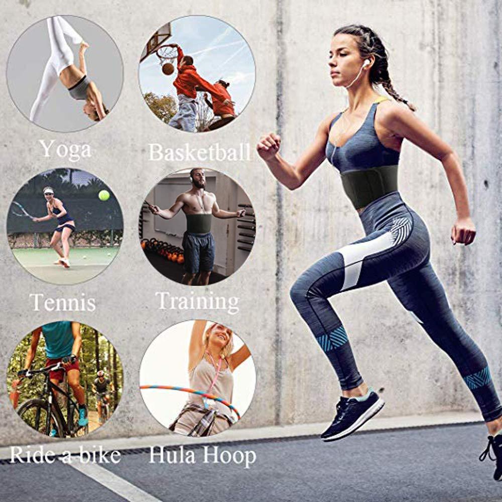 Ceinture De Sudation Homme Femme Abdominale Amincissante Fitness Muscu Gym Yoga