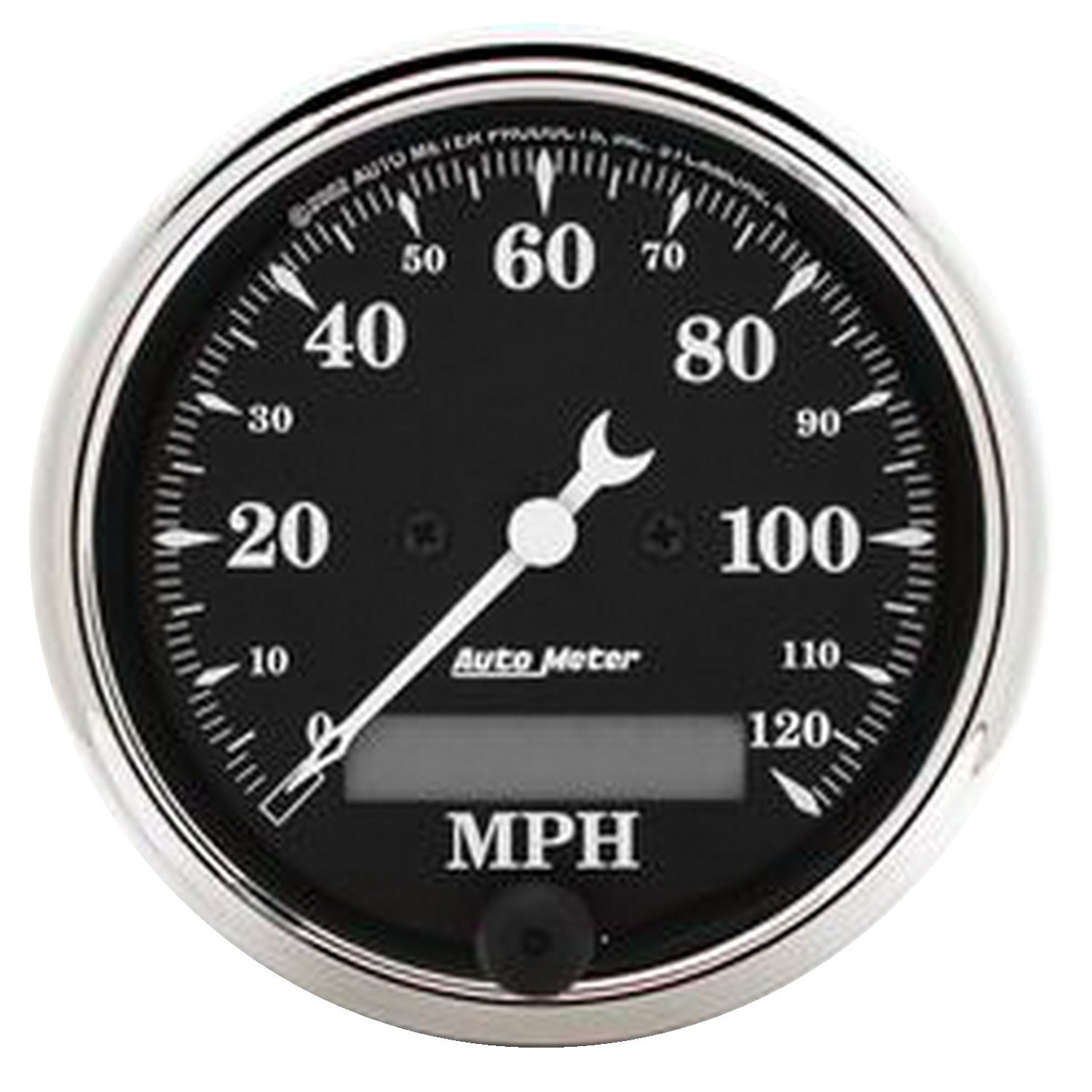 Auto Meter 1787 Old Tyme Black Electric Programmable Speedometer
