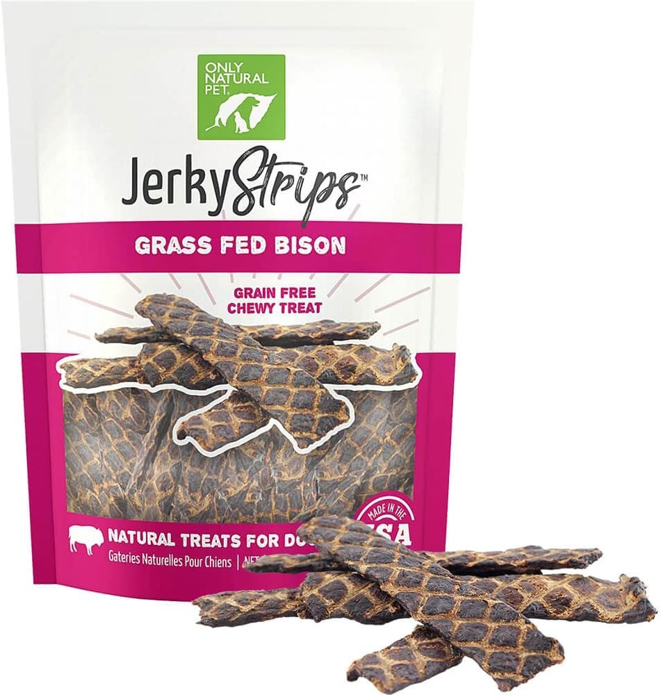 Only Natural Pet Grain Free Jerky Strips Dog Treats