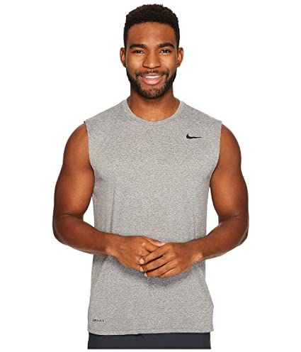 321742b0 Amazon.com : Nike Legend 2.0 Sleeveless Tee Carbon Heather/Black Men's T  Shirt : Everything Else