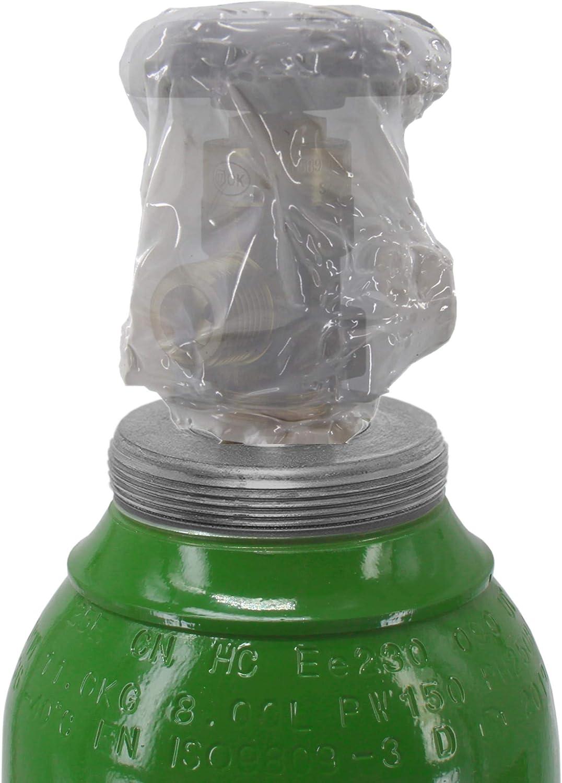 Nueva botella de gas llena 8 litros de Arg/ón//CO2 150bar 10 a/ños de legalizaci/ón MIG MAG Gas para de soldadura