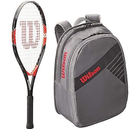 Amazon.com: Wilson Roger Federer Boy s colgadas Junior ...