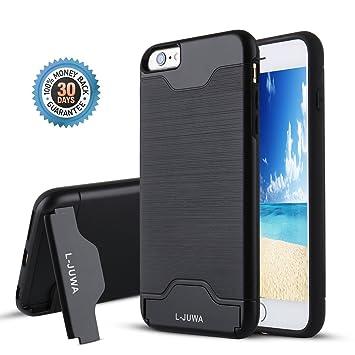 bb7904f546234b iPhone 6/6s Case, L-JUWA Shockproof Slim Fit Dual: Amazon.co.uk ...