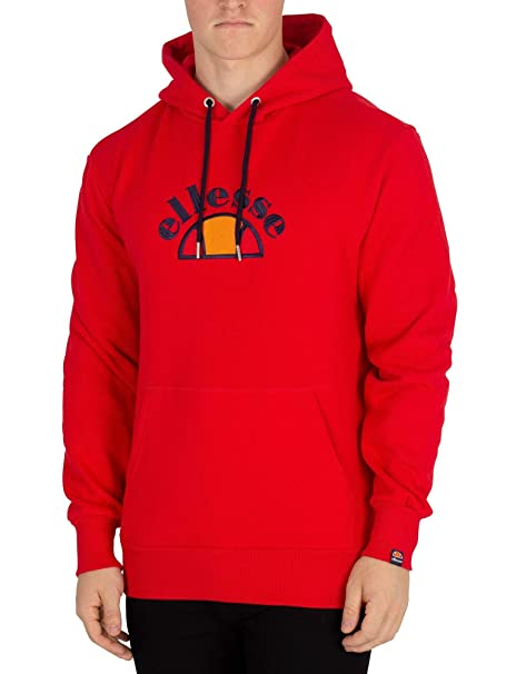87c8e5f07c Ellesse Men's Arc Pullover Hoodie, Red, X-Large: Amazon.ca: Clothing ...