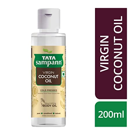 Tata Sampann Extra Virgin Coconut Oil 200 ml