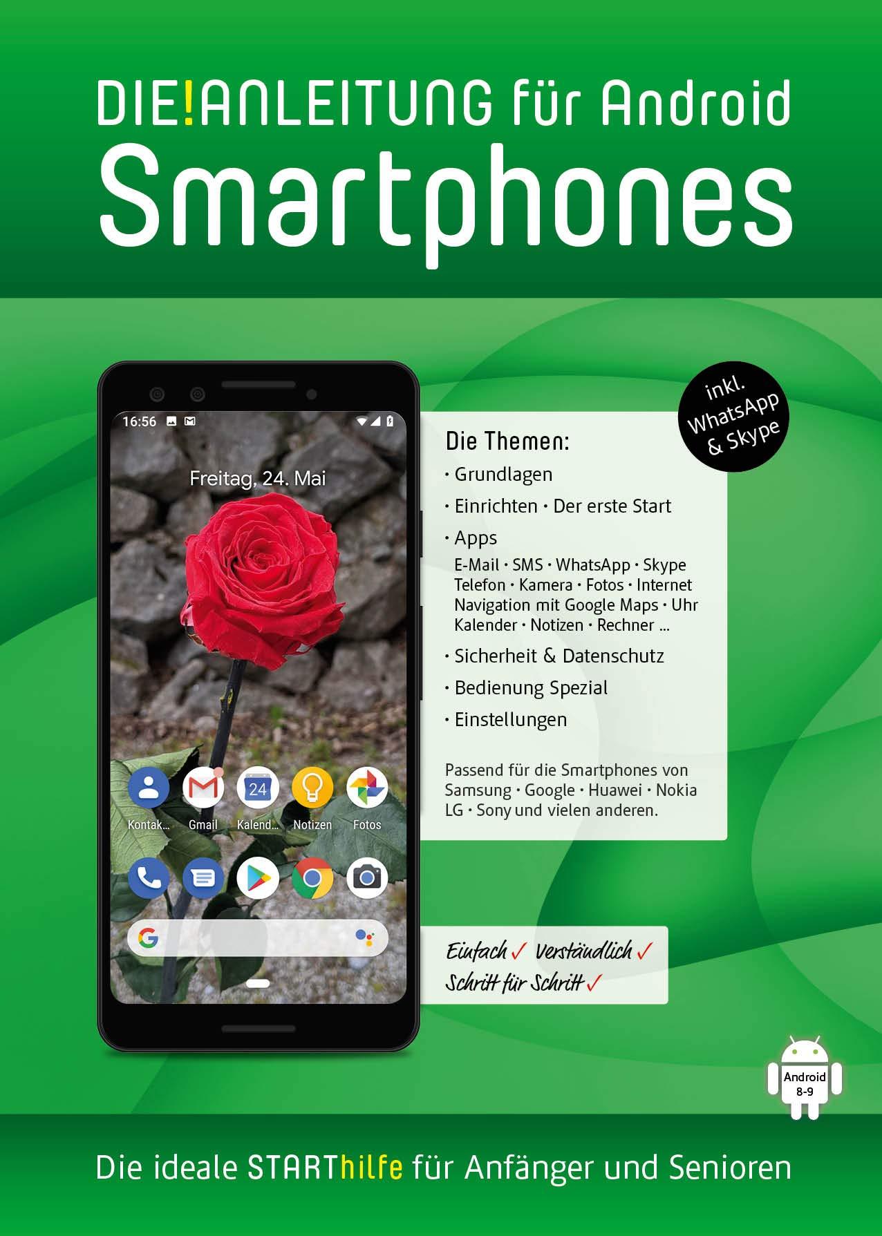 DIE ANLEITUNG für Smartphones mit Android 8/9: Speziell für ...