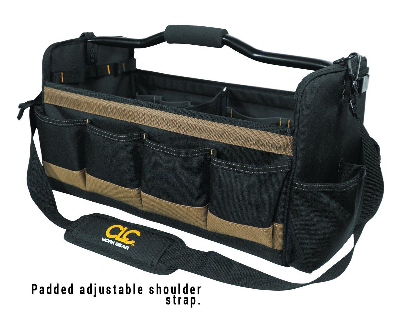 CLC Custom Leathercraft 1579 20 Inch, Open Top, Soft Sided Tool Box, 27 Pockets by Custom Leathercraft (Image #1)