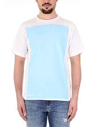 Calvin Klein K10K103675 T-Shirt Hombre Celeste L: Amazon.es: Ropa ...