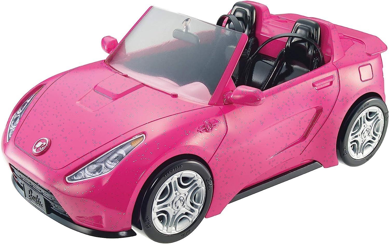 Barbie - Coche descapotable de Barbie - barbie coche - (Mattel DVX59)