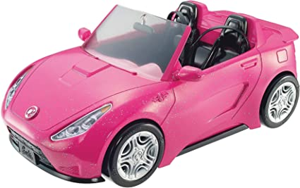 Amazon.com: Barbie Glam Convertible, Pink/Black: Barbie: Toys & Games