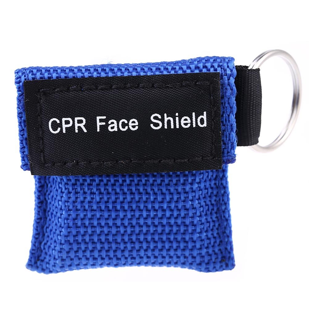 Gaosaili CPR Mask, One-way Valve Emergency Face Shields Rescue Baby and Adult Cpr Pocket Mask for First Aid