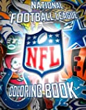 National Football League NFL Coloring Book: 43 Illustrations (Team Logos and Famous Players)