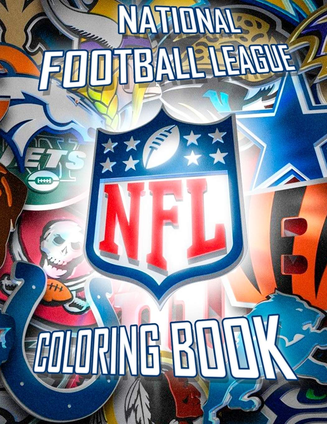 - National Football League NFL Coloring Book: 43 Illustrations (Team