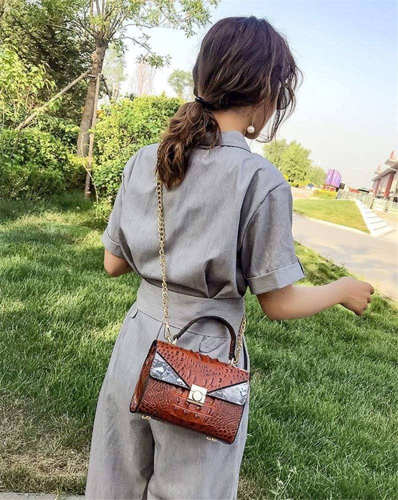 Linshenyoulu delle Donne Top-Spalla Manico Cross-Corpo Bag Grande capacità Materiale PU è Elegante e Semplice Adatto per Dating Shopping Lavoro Viaggi Tempo Libero,Nero Silverwhite