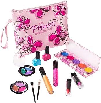 Playkidz- Set de Maquillaje cosmético y Real Lavable, Estuche Diseño Floral (3032): Amazon.es: Juguetes y juegos