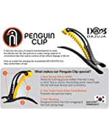 Professional Premium Hair Clips Large with Non-Slip Grip Penguin Clip works for All Hair Types (Colors Vary)