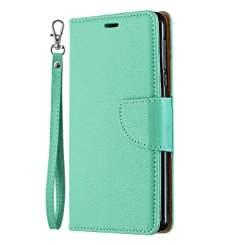 Samsung Galaxy S10 Plus Flip Case Cover for Leather Card Holders Kickstand Mobile Phone Cover Extra-Shockproof Business Flip Cover
