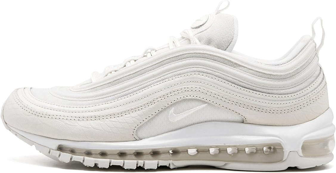 Nike Scarpe Donna Wmns Air Max '97 Premium 40 in Pelle Bianca ...