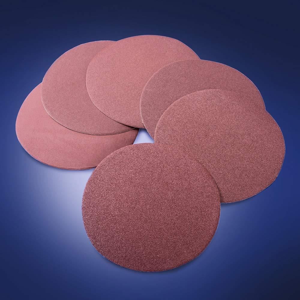 Grits 80//100//120//150//180//240 Sanding Discs Sandpaper for Drywall Sander and Polisher 1 Set Sanding Abrasive Discs 9inch//225mm POWER PRO 2100