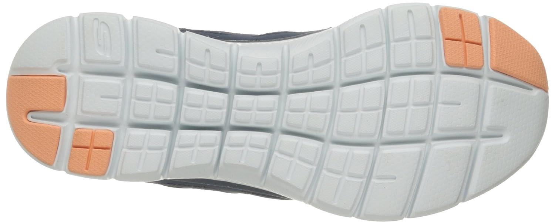 Skechers Sport Flex Damen Flex Appeal Simplistic Flex Sport Appeal Simplistic Mehrfarbig (Slate/Coral) 4fbe78