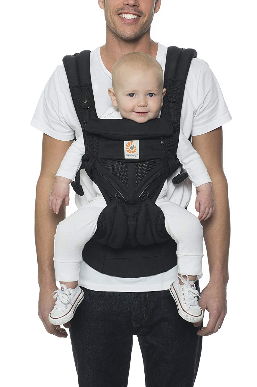Ergobaby Omni 360 Baby Carrier Cool Air Mesh Multicolor Carbon Grey