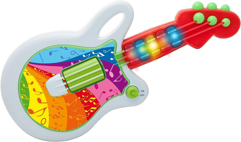 TEOREMA 64739 – Baby Guitarra Musical con Luces Y 10 melodías ...