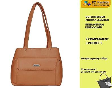 82f123b0e0ad FD Fashion Soft Luggage Women s Handbag (Tan